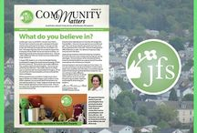 JFS #CommunityMatters Newsletter / Check out the latest issues of our Community Matters Newsletter!