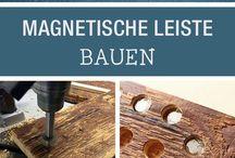 Magnetmesserwand bauen