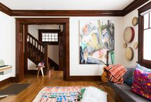 Wall Paint for Rooms with Dark Woodwork