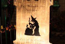 Halloween - Projet de décorations de notre maison hantée Secret Queen / Tableau dédié à l'halloween pour des idées de bricolage de halloween, décoration intérieur et halloween. Les décorations d'halloween sur notre site web son à fabriquer soi-même (DIY) expliquées étapes par étapes avec photos. Ces décorations de halloween vous permettrons de créé un décors original.  Nous les expliquons étape par étape. Voir notre site web pour tous les projets : http://maisonhanteesecretqueen.com