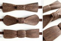 Wooden Bow Tie / Wooden Bow Tie