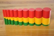 Maternelle Montessori aktiviteetit