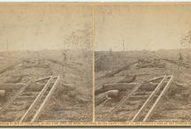 Collection of Civil War Era Stereographs / The Collection of Civil War era stereographs is a group of 89 photographic prints on stereo cards, dated between 1861 to 1894, and held by DeGolyer Library, Southern Methodist University.