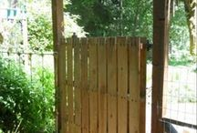 Gate for fence
