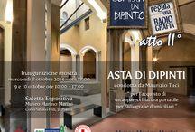Asta al museo Marino Marini, Pistoia / Inaugurazione mostra mercoledì 8 Ottobre ore 18:00 e nei giorni 9e10 Ottobre 10:00-17:00 Asta delle opere nella saletta espositiva del Museo Marino Marini di Pistoia per l'acquisto di un'apparecchiatura portatile per radiografie domiciliari