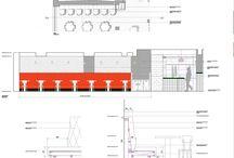 Projeler & detaylar / Özellikle restoran & perakende mimari tefriş & detay projeler