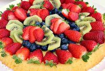 torta alla frutta fresca