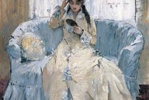 """[1841 - 1895] Berthe Morisot - Impressionism / """"It is important to express oneself... provided the feelings are real and are taken from your own experience."""""""