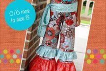 Girls Pants and Capris PDF Sewing Patterns