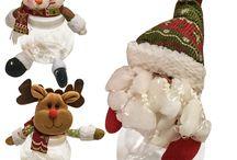 Χονδρική Υφασμάτινα Διακοσμητικά Χριστουγέννων