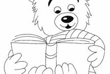 Bears coloring book / Bears coloring pages