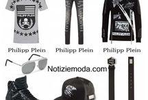 Philipp Plein uomo / Philipp Plein collezione e catalogo primavera estate e autunno inverno abiti abbigliamento accessori scarpe borse sfilata uomo.