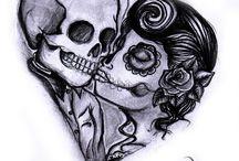 Skull couple job