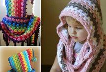 Mütze Hooded cowi crochet