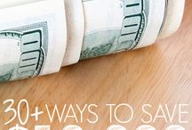 Saving Money / Tips and ideas for living on a budget, frugal living and getting out of debt.  Ideas on how to save money for college, travel, vacations, a house and more.