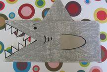 #SharkWeek Crafts for Kids