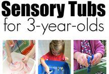 sensory tubs