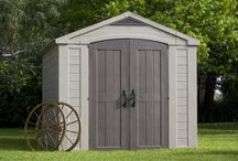 Garden Shed Ideas / Low maintenance storage shed ideas for the garden and backyard with links to in-depth reviews