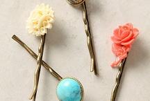 Fancy Hair Pins / by PickYourPlum