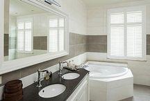 Shutters badkamer / Shutters als toepassing in uw badkamper