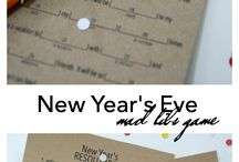 MOVE your New Year´s Eve (party) / Find some fun ideas for your New Year´s Eve / Silvester party.