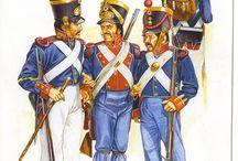 19TH-MEXICAN ARMY -ALAMO-1835