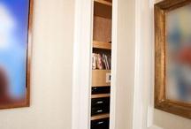 Loghouse frameless  door
