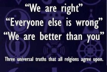 AMEN! / Thoughts on religion / by Paula Holsinger