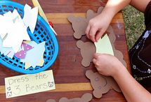 Bears / crafts and activities for kids based on the bear theme