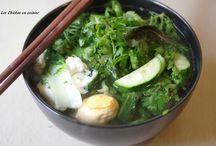 Nos soupes / Soupe; soupe de légume; bouillon; soupe asiatique, ramen; soupe de nouilles