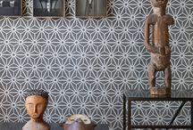 Materialen inspiratie svdk / tegelwerken, patronen, mooie visuals als inspiratie