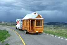 The Rise of the Tiny House Movement / Who knew? There are people who are choosing to live in teensy houses built on trailer platforms about 100 to 130 square feet. Imagine that! Ideal for people who want to live more simply, for retired couples, or for those who want to live off the grid. These are architecturally quite interesting. This is definitely not a good housing option for hoarders.