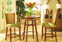 Great selection of Bar Stools! / Purchase any of our great selection of tropical Wicker and Rattan bar stools. http://www.americanrattan.com/rattan-bar.html
