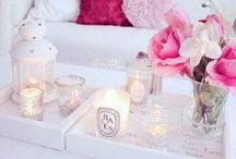 Living in Pink and Pastels / Charming, chic and feminine living
