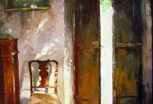 lys maleri