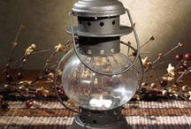 lámpások, gyertyák, fényforrások