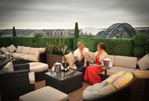 Sky Lounge & Gardens / The Vermont Hotel's Sky Lounge features incredible panoramic views of Newcastle City including the Quayside and Castle.  From this flexible function suite, opulent lounge and exquisite rooftop terrace you and your guests can enjoy breathe-taking views, unlike any other, 200ft above the heart of the city.