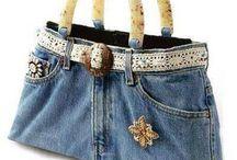 поделки из джинса