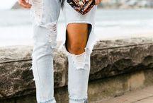 Trasig jeans
