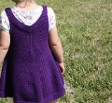 knitting dress toddler free pattern