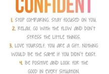 Confidence tips / Learn how to be your biggest advocate, rather than your own biggest critic. Tips and tricks to boost your confidence.  How to be more confident | build your confidence | how to command respect | how to seem more confident | why confidence matters | confidence tips for women