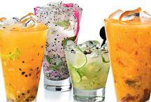 Bebidas / Sucos e alcoolicas