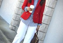 Work Style  / Clothes for work.   You will notice a trend / by Lin Da