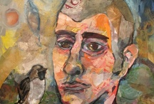 Collage Portraits / Mixed media portraiture by Katherine Horst. Commissioned collage opportunities open to the public. http://collage-portraits.com