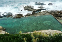 Bermagui's Blue Pool / One of 100 ocean baths in NSW. This one is on the South Coast.