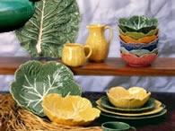 Cabbage leaf ceramics