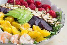 Greek Salads - Yum!