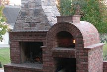 Outdoor pizza