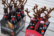 Reindeers on Beer Bottles