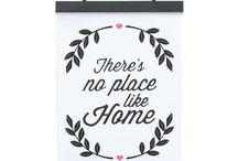 Banderolas / Banderolas de lona con marco de madera para colgar en paredes o muebles. Accesorios de decoración y hogar.